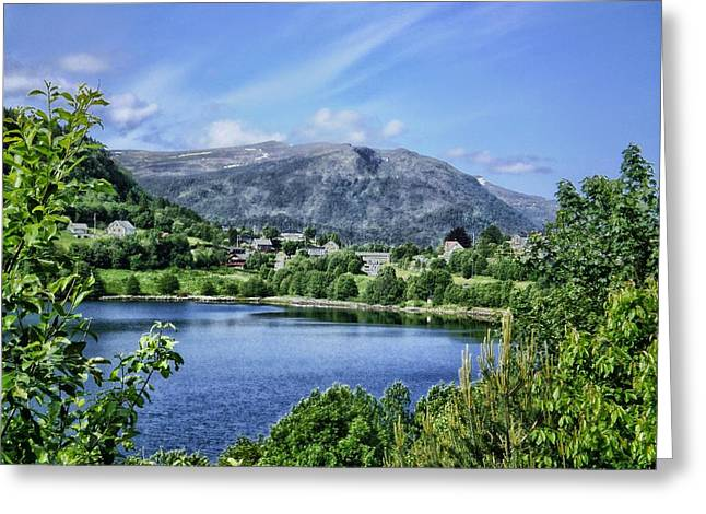 Norway Village Greeting Cards - Beauty of Norway Greeting Card by Mountain Dreams