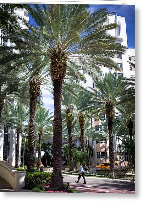 Urban Images Greeting Cards - BEAUTY of SOUTH BEACH Greeting Card by Karen Wiles