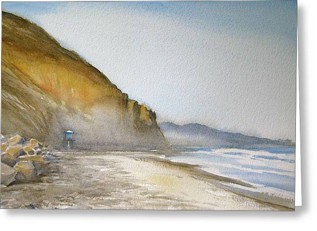 Pch Paintings Greeting Cards - Beauty of Torrey Pines Greeting Card by Alice Picado