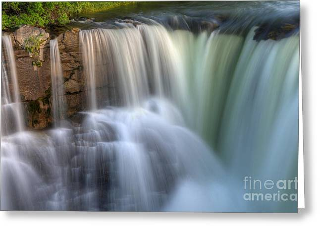 Moving Earth Greeting Cards - Beauty Of Water Greeting Card by Bob Christopher
