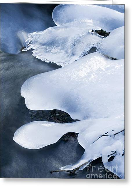 Beauty Of Winter Ice Canada 17 Greeting Card by Bob Christopher