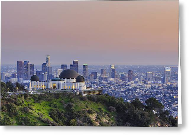 Beauty On The Hill Greeting Card by Scott Campbell