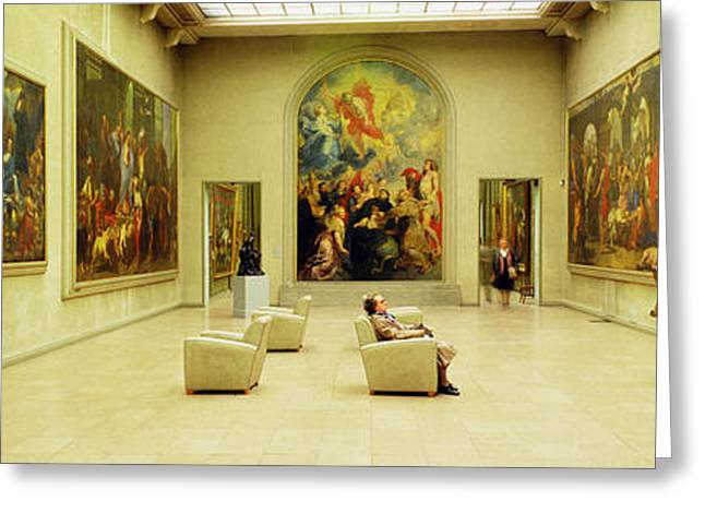 Large Scale Greeting Cards - Beaux Arts Museum Lyon France Greeting Card by Panoramic Images