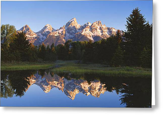 Wy Greeting Cards - Beaver Pond Grand Teton National Park Wy Greeting Card by Panoramic Images