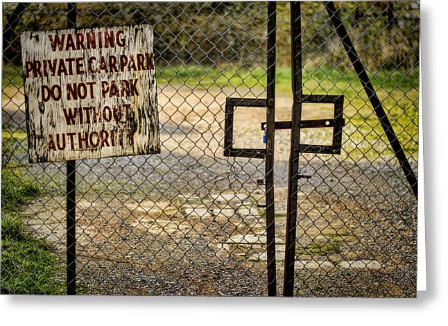 Locked Out Greeting Cards - Because I Said So Greeting Card by Heather Applegate