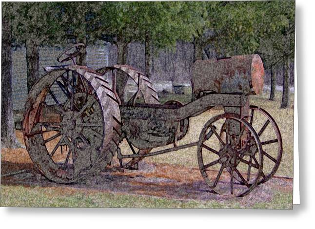 Convention Mixed Media Greeting Cards - Beckmans Mill Greeting Card by Dennis Buckman