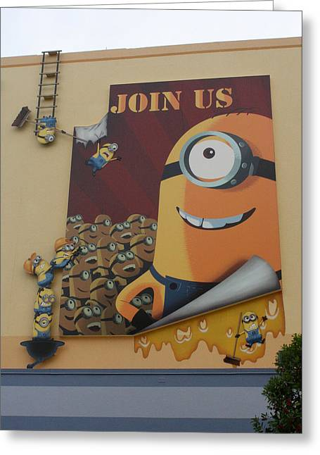 Despicable Me Greeting Cards - Become A Minion Greeting Card by David Nicholls