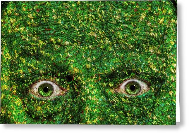 Startled Greeting Cards - Becoming Aware Greeting Card by Rick Mosher