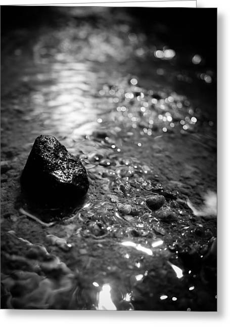 Spiritual Being Greeting Cards - Becoming the Stream Greeting Card by Jessica Brawley