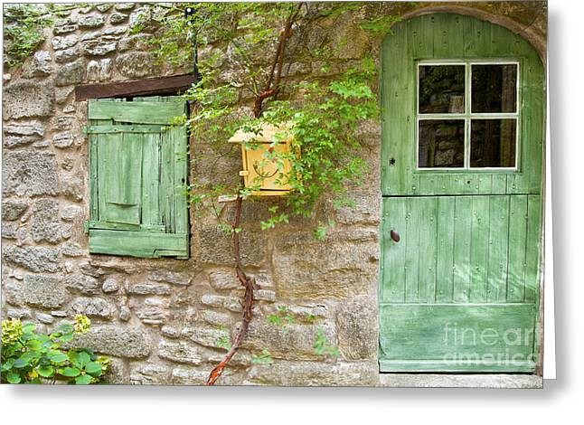 Provence Village Greeting Cards - Bed and Breakfast Greeting Card by Bob Phillips