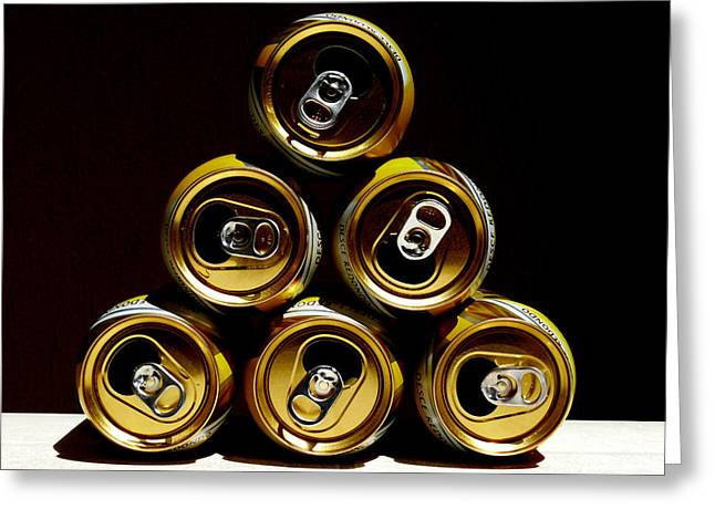 Weizenbier Greeting Cards - Beeramid Greeting Card by Carlos Vieira