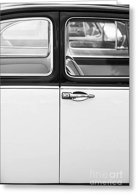 Beetle Car Greeting Cards - Beetle Door Abstract Greeting Card by Tim Gainey