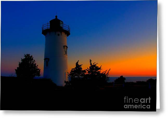 Vineyard Haven Greeting Cards - Before Dawn Greeting Card by Mark Miller