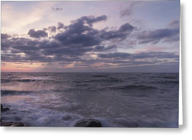 Boynton Greeting Cards - Before Dusk Greeting Card by Jon Glaser