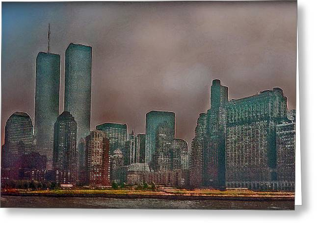Wtc 11 Greeting Cards - Before Greeting Card by Hanny Heim