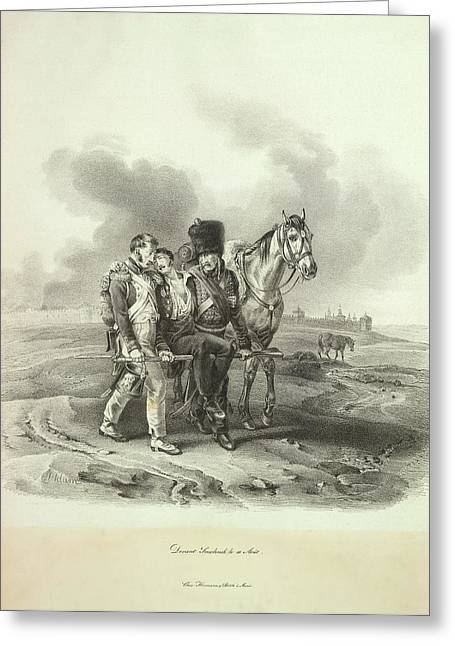 Before Smolensk Greeting Card by British Library