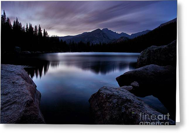 Peaceful Scenery Greeting Cards - Before Sunrise Greeting Card by Steven Reed