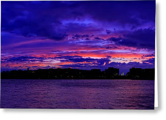 Tidal Photographs Greeting Cards - Before The Rain Greeting Card by Metro DC Photography