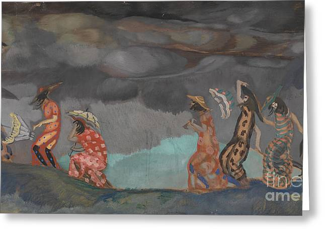 Orthodox Paintings Greeting Cards - Before the Storm Greeting Card by Celestial Images