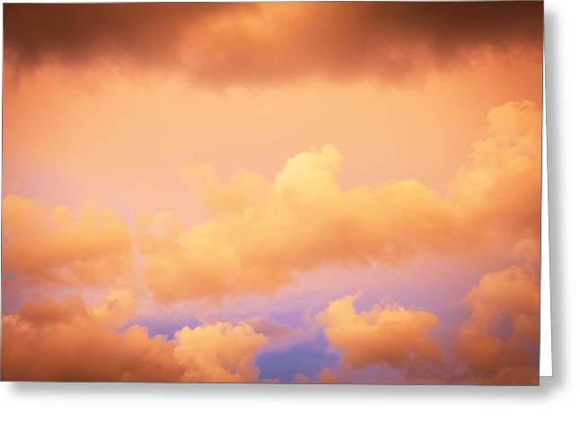 Golden Shower Greeting Cards - Before the Storm Clouds Stratocumulus 11 Greeting Card by Rich Franco
