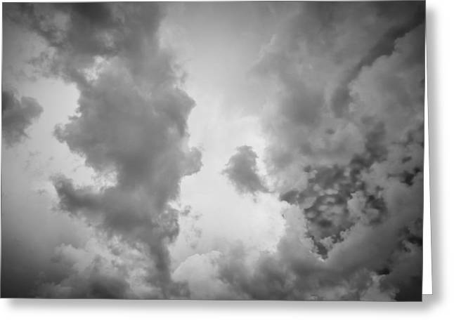 Golden Shower Greeting Cards - Before the Storm Clouds Stratocumulus 3 Greeting Card by Rich Franco