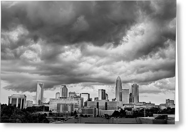 Charlotte Framed Photography Greeting Cards - Before the Storm Greeting Card by Jennifer Hogan