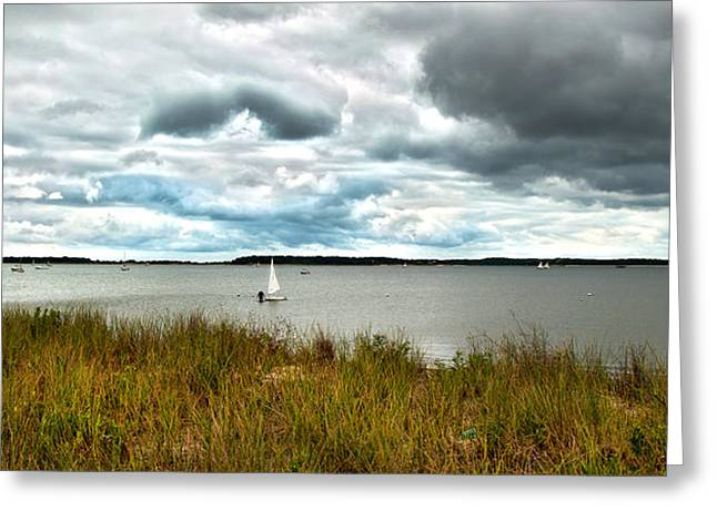 Storm Clouds Cape Cod Greeting Cards - Before the Storm Greeting Card by Michael Joyce