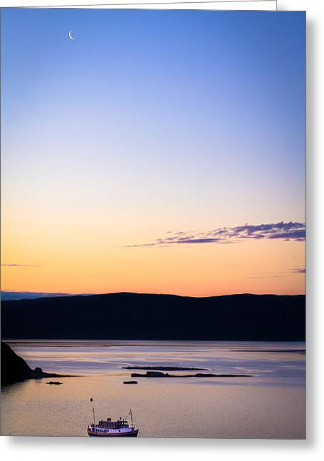 Before The Sunrise Greeting Card by Yuri Fineart