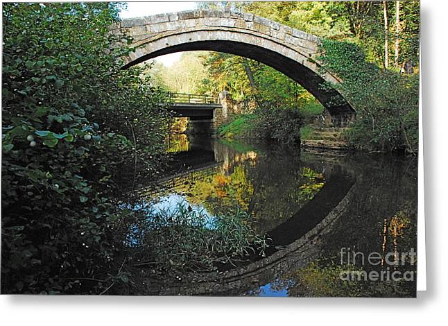 Beggars Bridge Three Greeting Card by Doug Thwaites