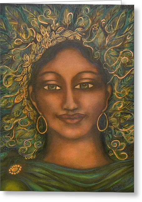 Visionary Artist Greeting Cards - Begin Again Greeting Card by Marie Howell Gallery