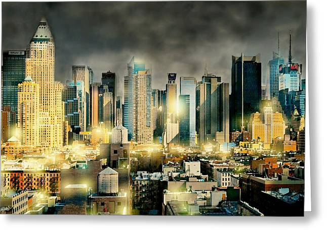 Midtown West Greeting Cards - Begin and End With You Greeting Card by Diana Angstadt