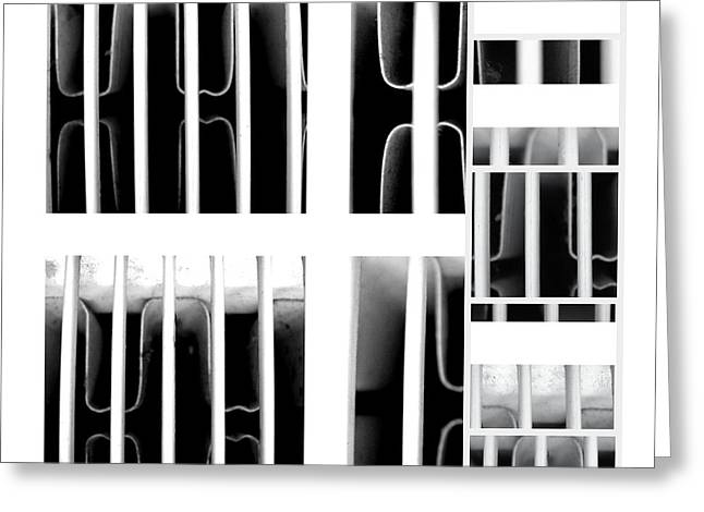 Cocain Greeting Cards - Behind Bars Part Two Greeting Card by Sir Josef  Putsche