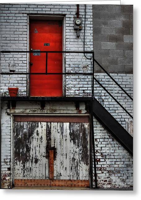 Stair-rail Greeting Cards - Behind Ripley 003 Greeting Card by Lance Vaughn