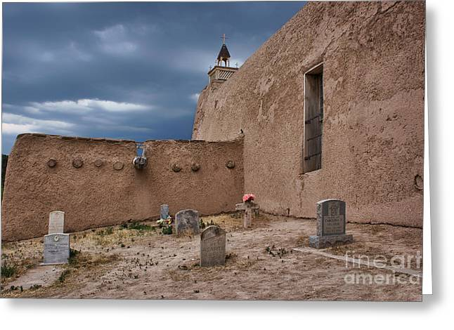Adobe Greeting Cards - Behind the Church Greeting Card by Nikolyn McDonald