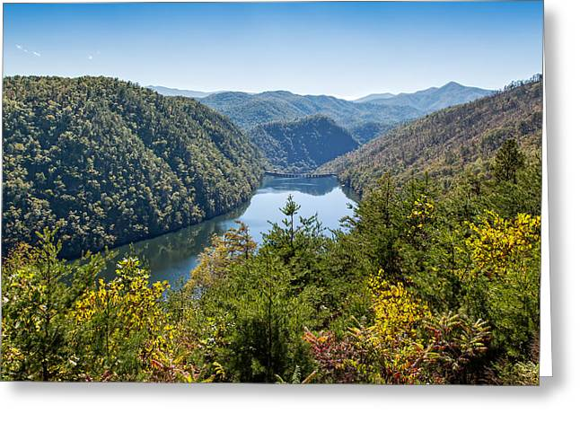 Tennessee Landmark Greeting Cards - Behind the Fugitive Dam Greeting Card by John Bailey