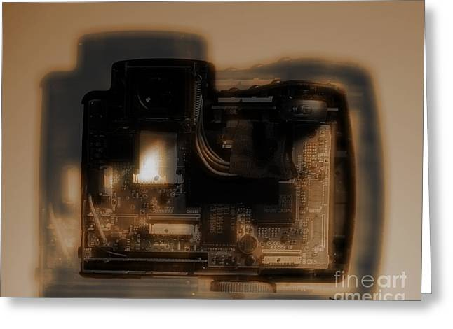 Behind The Lens  Greeting Card by Steven  Digman