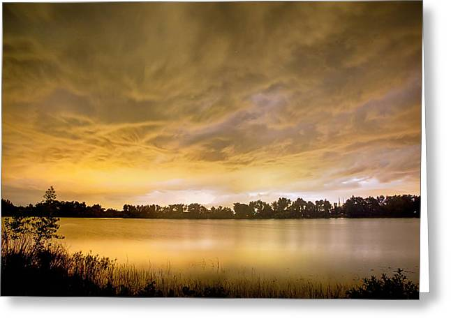 Storm Prints Greeting Cards - Behind The Storm Greeting Card by James BO  Insogna