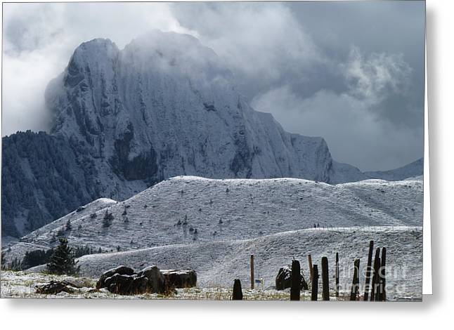 Swiss Photographs Greeting Cards - Behold Greeting Card by MAK Photography