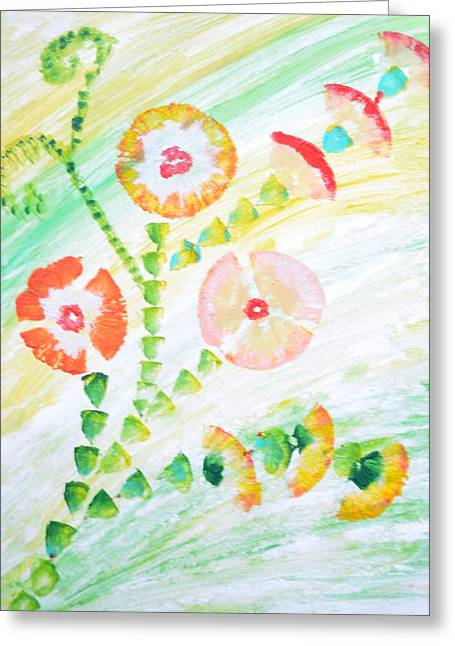 Feminity Greeting Cards - Bei Fiori Greeting Card by Sonali Gangane