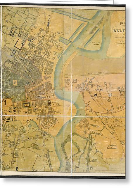 Belfast Greeting Card by British Library