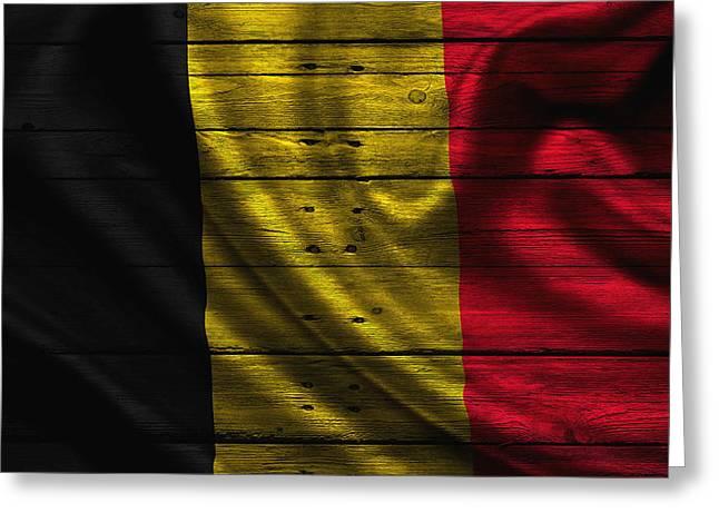 Continent Greeting Cards - Belgium Greeting Card by Joe Hamilton