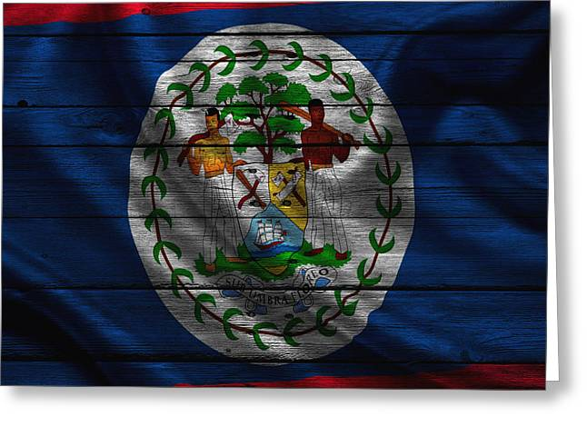 Continent Greeting Cards - Belize Greeting Card by Joe Hamilton