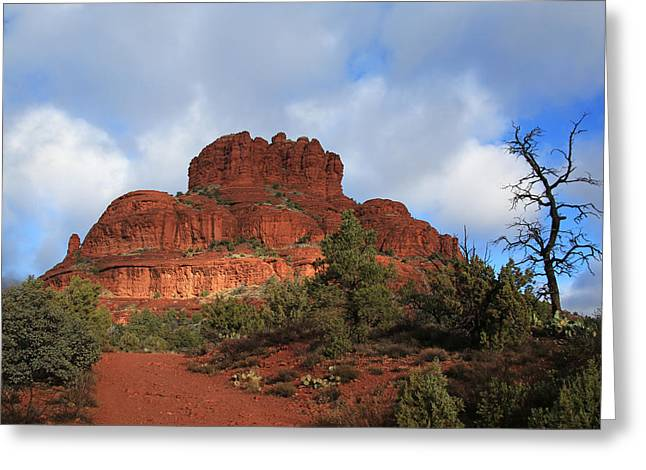 Bell Rock Greeting Cards - Bell Rock Greeting Card by Donna Kennedy