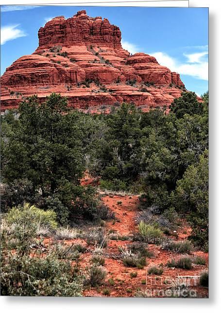 Bell Rock Greeting Cards - Bell Rock Greeting Card by John Rizzuto