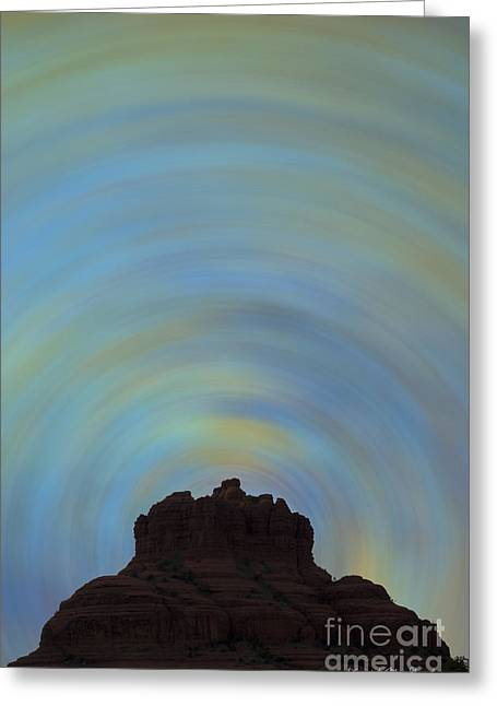Energy Vortex Greeting Cards - Bell Rock Vortex No. 2 Greeting Card by David Gordon
