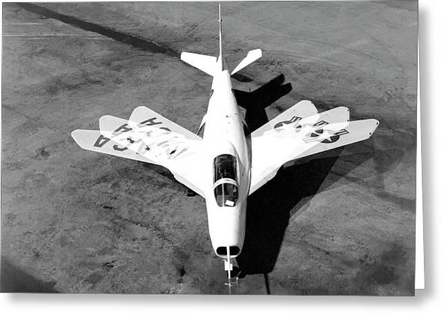 Bell X-5 Experimental Aircraft Greeting Card by Nasa Photo / Naca/nasa