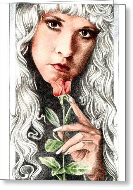 Bella Donna Greeting Cards - Bella Donna Greeting Card by Johanna Pieterman
