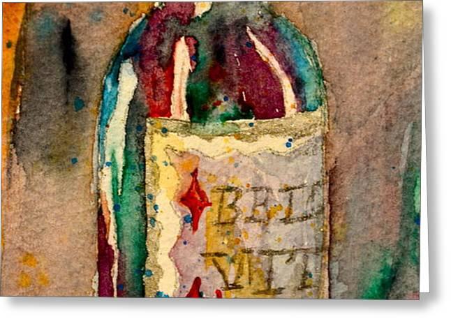 Bella Vita Greeting Card by Beverley Harper Tinsley
