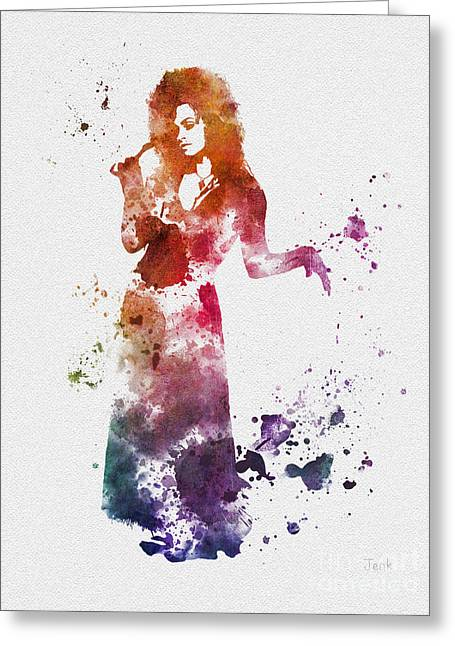 Purchase Art Greeting Cards - Bellatrix Greeting Card by Rebecca Jenkins