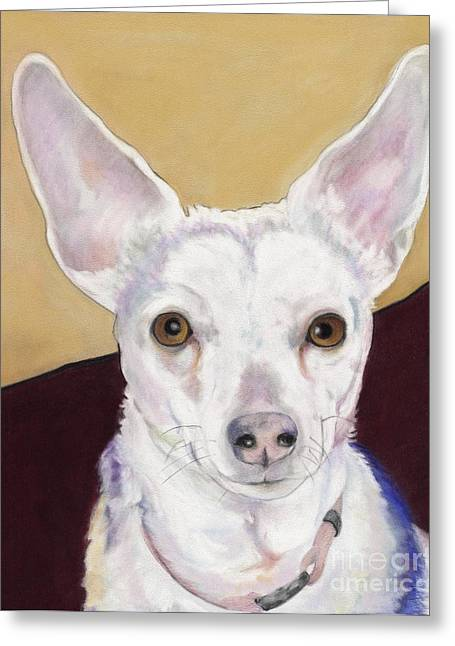 Pat Saunders-white Greeting Cards - Belle Greeting Card by Pat Saunders-White